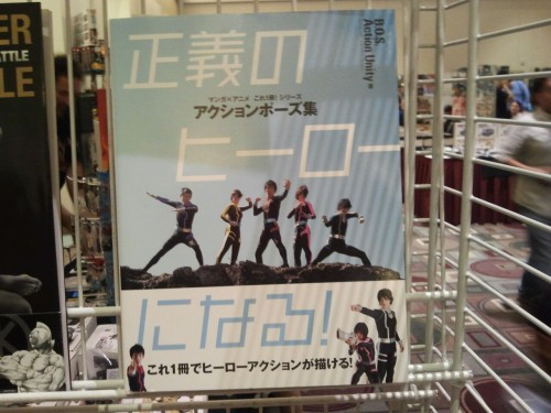 Wow a photobook for toku action posing. Great reference material for cosplayers and fanartists.