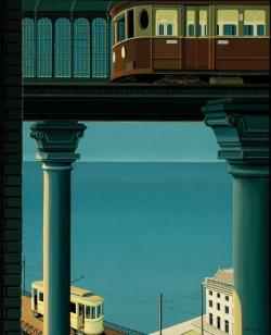 poboh:  Below subway, Joop Polder. Dutch, born in 1939.