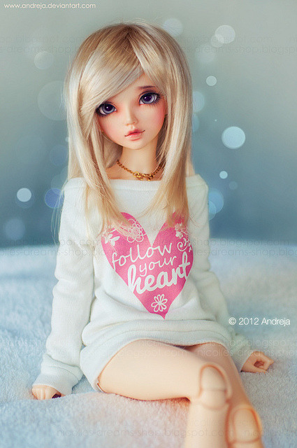 dolls-passion:  Follow Your Heart [700px] by ***Andreja*** on Flickr.