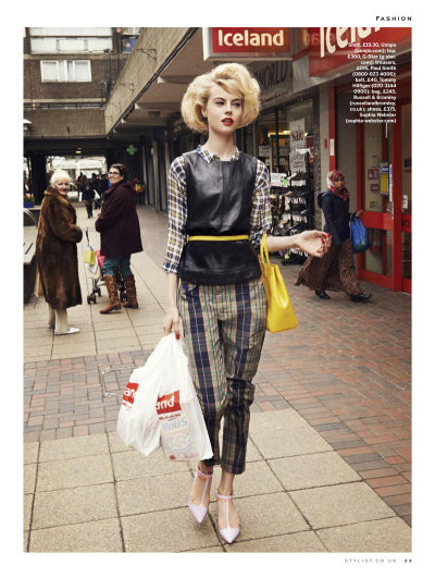Stylist Magazine Abril 2013 Wylie Hays por David Titlow. Estilismo de Alexandra Fullerton. ….. Stylist Magazine April 2013 Wylie Hays by David Titlow. Styling by Alexandra Fullerton.
