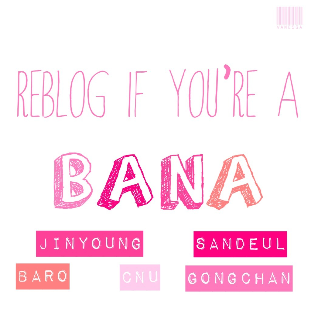 biwonest:  reblog if you're a bana 💕 let's make friends fellow banas 💕