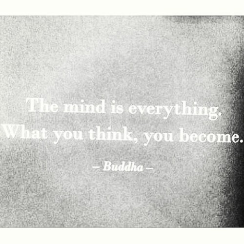 Be careful what you think. #selfawareness #peacefulthoughts #controlyourmind #freeyourmind #feedyourmind