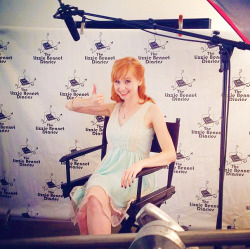 marykatewiles:  @wesaderhold @mkwiles interviewing it up for @thelbdofficial  I had a lot of fun working on DVD stuff today. I have managed to not be too sad over the ending of the show, but watching a lot of it back today made me awash with all those feelings again. Happy, and sad, and nostalgic, and heavy with thoughts. Anyway, hope you all will like it.