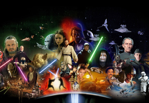 fancysomedisneymagic:  A STAR WARS DISNEY PARK? It has been confirmed that annual pass holders have been receiving with their monthly mails and updates polls about the possibility of visiting a Star Wars theme park. The saga is already pretty much present in the parks, but now that Disney owns Lucasfilms, this is a bigger possibility. Also there are rumors of building a Marvel park. What do u guys think?