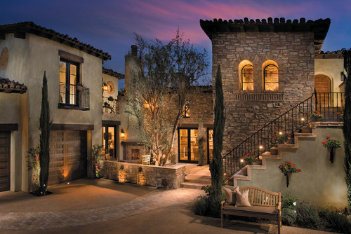 georgianadesign:  Architect Frank Stolz in La Quinta, CA. Via Eldorado Stone, San Marcos, CA.
