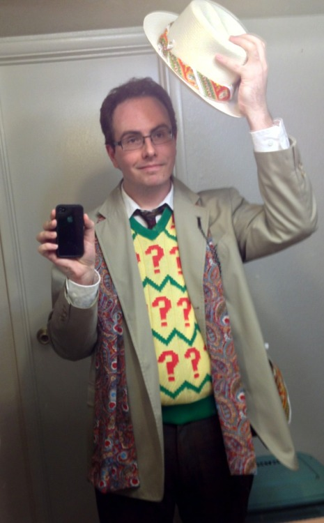 kanenwriter:  Seventh Doctor outfit for Phoenix Comic-Con