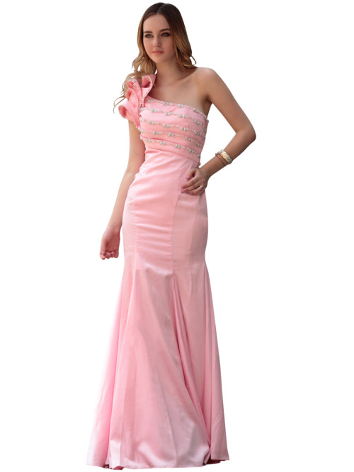 STACY IN PINK DROP WAIST BRIDESMAID DRESS  SKU# 30612 Be the first to review this product Availability: In stock £362.00