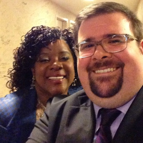 Me and miss #loretta #devine #onenightonly (at McCallum Theater)