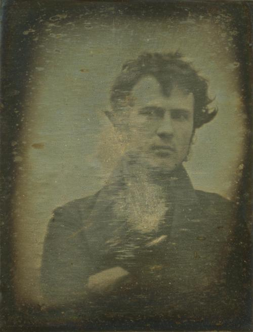 The first human portrait ever taken, 1839 [ 2006 x 2633] - Imgur
