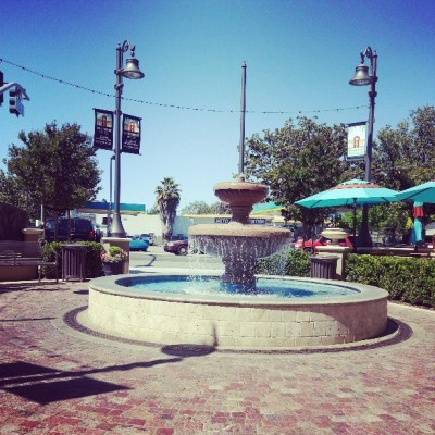 #willowglen #downtown area #fountain perfect day for a stroll!