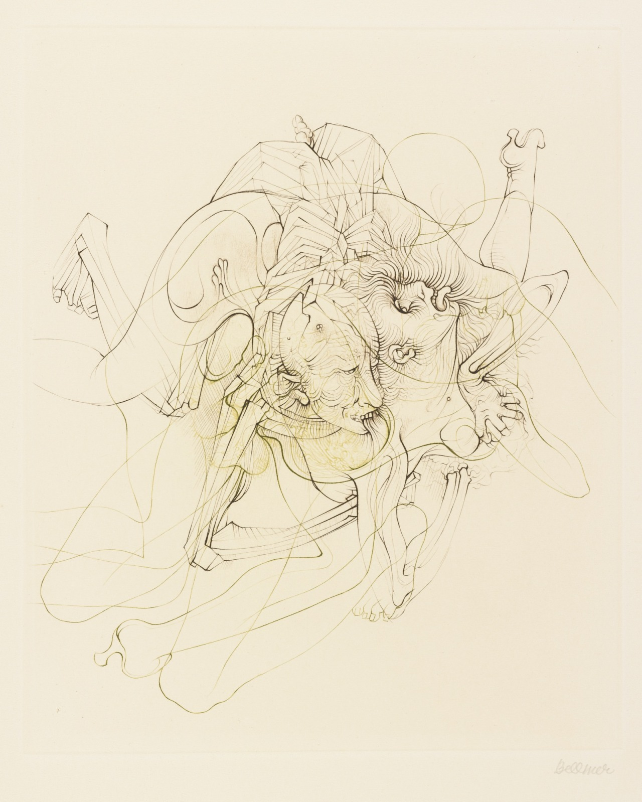 mrkiki:  Hans Bellmer Petit Traite De Morale. 1968 Printed Etchings 380 x 284 mm / 15 x 11 1/4 in VIA