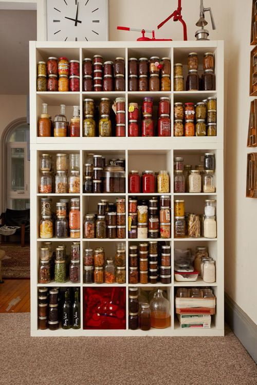 WHAT A PANTRY! SUMMER GOAL // 2013. More here: http://lky.ph/post/46960423537/pantry-portraits