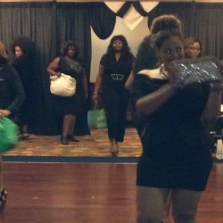Evolution of Curves Charity Fashion Show! The models werked the runway!!! Great Show! #plussizeblogger #plussizefashion #plussizefashionShow #fashion