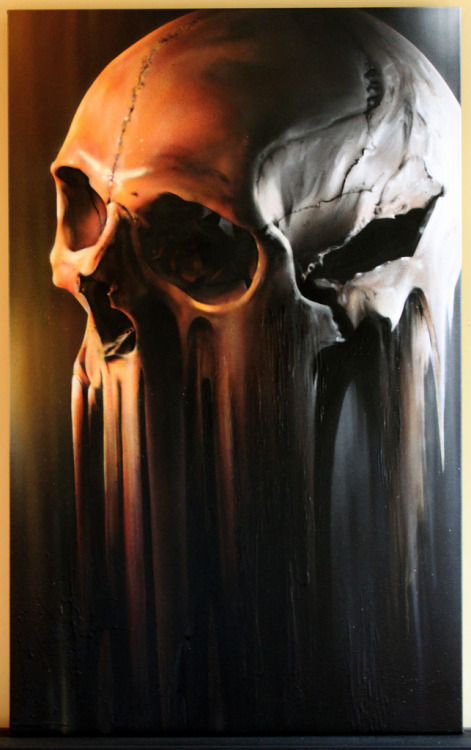 Designersgotoheaven.com - Skull on Canvas by SmugOne.