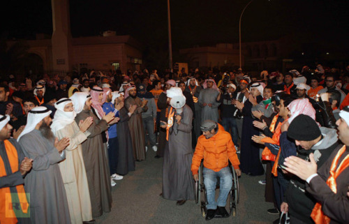 More than 1,000 anti-government protesters descended upon Kuwait Sunday even though unauthorized political rallies are banned. Protesters demanded an end to government corruption & that the new parliament be dissolved. The demonstration was met with riot police, tear gas & stun grenades. More than 20 people have been arrested so far.