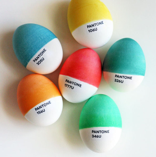 Easter Eggs for the color geeks out there.