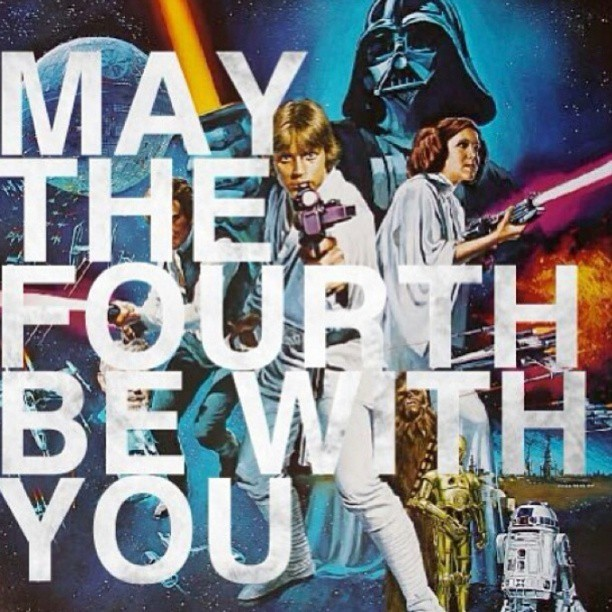 ishotthemaid:  #Maythe4th #StarWars #HappyMay4th  May the 4th be with you….  Always