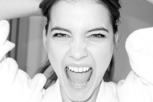 Barbara Palvin at my studio.