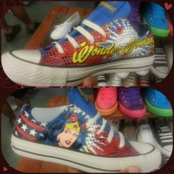 Yea I need these #WonderWoman #Converse