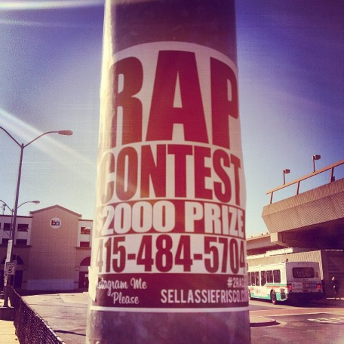 """Rap Contest"" #oakland #ca #bart #travel #tourist #newplaces (at Fruitvale Village)"