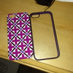#februaryphotochallenge #day18 #phonecase #iphone5 #love #purple #favorite #color