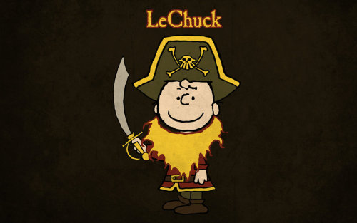 LeChuck T-shirt Design by ~alsnow
