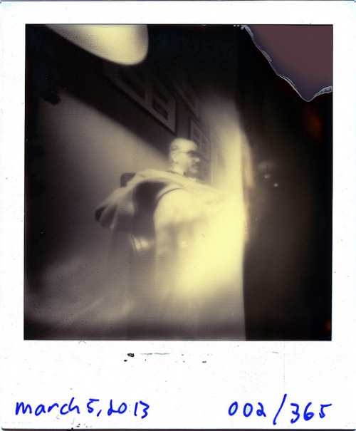 Pinhole: March 5, 2013 (002/365) on Flickr.Nashville, Tennessee Ammo Can, ~f/175, tilted film plane, Impossible Project PX 600 Silver Shade UV+