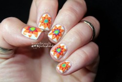 ohwondrous:  Spanish inspired flowers!