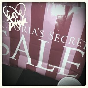 semi annual sale<3 (Taken with Pink Nation Android)      I added this cool filter on the PINK Nation app. Download it now to PINK your pics!