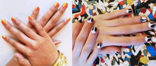 I talked Spring Nail Art trends hawt off the runway with Brooke Wright on Modelinia.