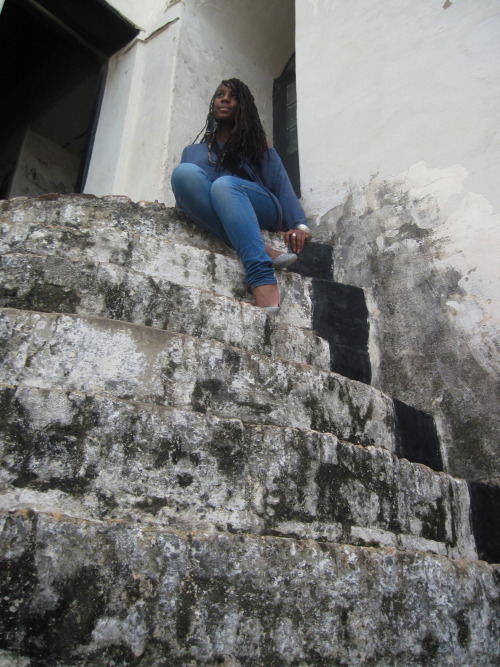 triumph over tragedy. elmina slave fort - Ghana.