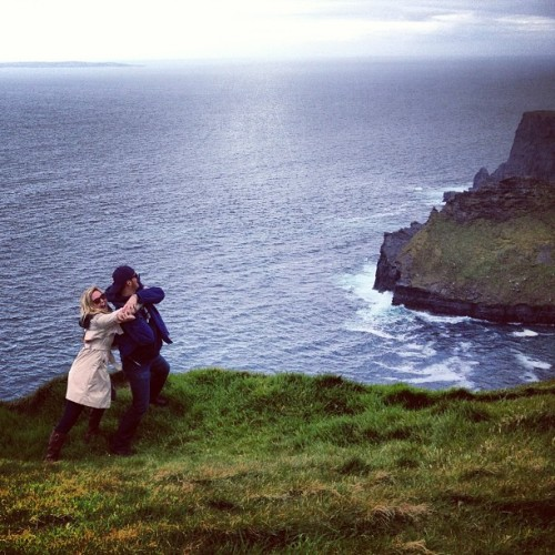 Brotherly love #ireland  (at Cliffs of Moher)