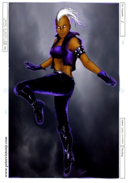 Catch Storm and all of her teammates THIS WEEKEND at Boston Comic Con at the Hynes Convention Center!  Look for my booth and come say hello!  Looking forward to seeing you there!