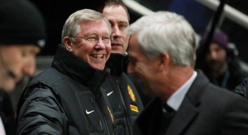 """So here to Alex Ferguson, he'll take us all the way"""