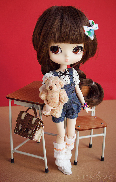 adoremag:  Yeolume Podo on Flickr.  Wow, she looks great on an Azone body! Super cute.