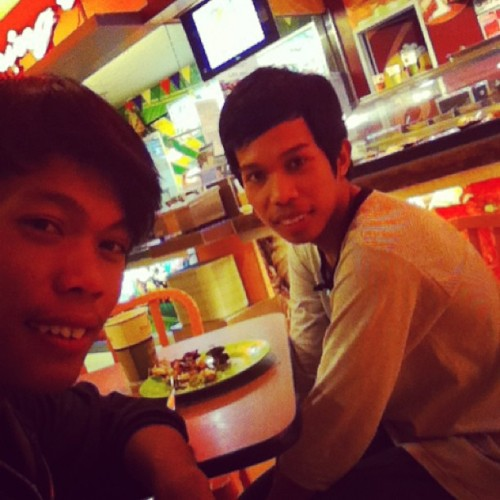 lunch time with my bro!! #sm #city #ecolan #davao