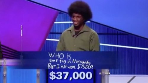 This Guy Has Best Final Jeopardy Response What is a win?