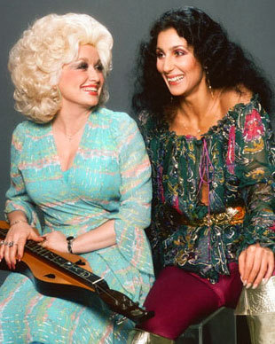 piratetreasure:  dolly and cher