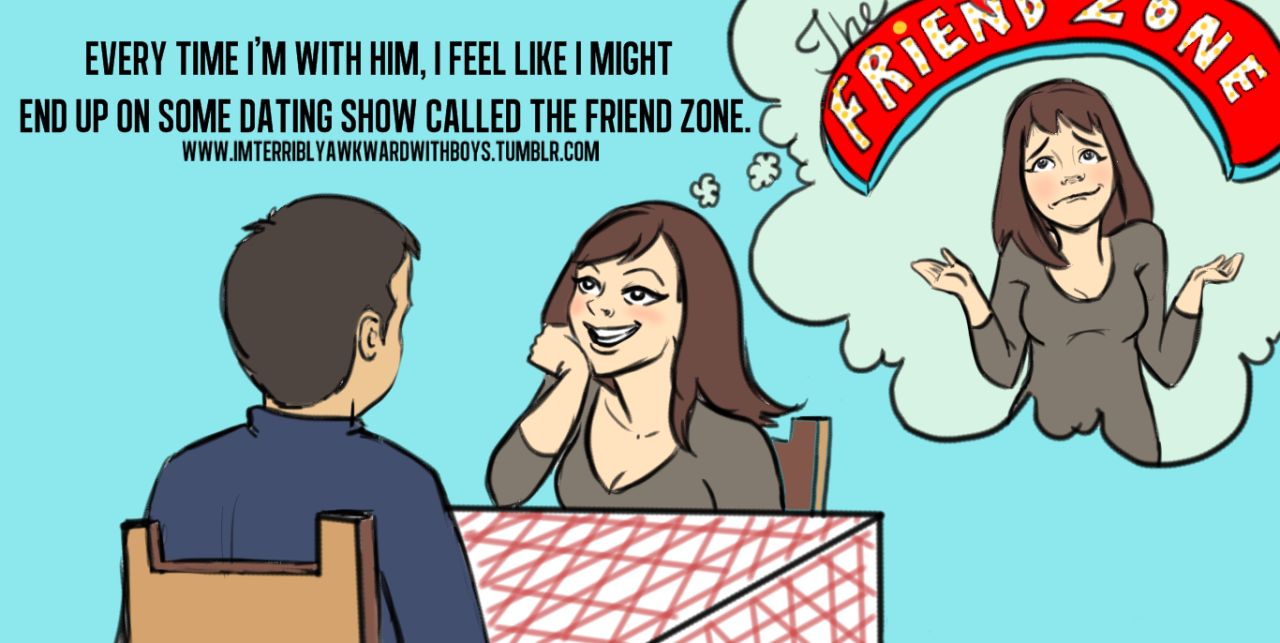 Vol. 3/#43  The Friend Zone?