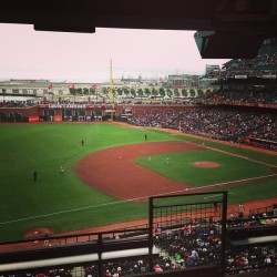 Z suite! Go #Giants! (at AT&T Park)