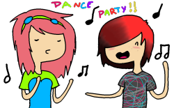 Dance party with me!?