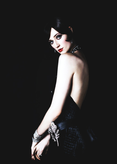 Elizabeth Debicki as Jordan Baker, photographed by Hugh Stewart.