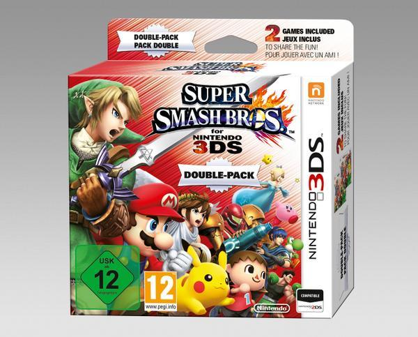 mynintendonews:  Smash Bros 3DS Double Pack Coming ToEurope Nintendo Italy has confirmed that you'll be able to purchase a Super Sma