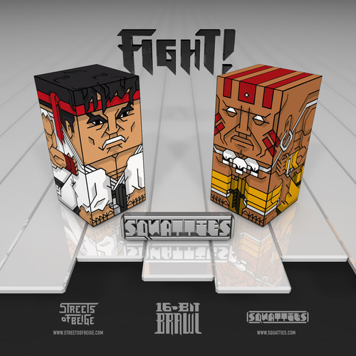 Streets Of Beige 16-Bit Brawl Ryu vs Dhalsim