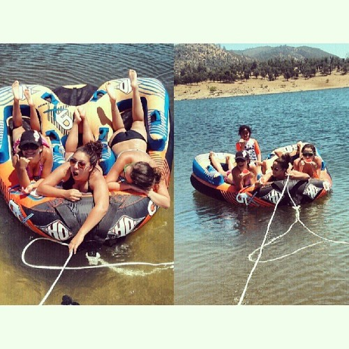 Only pictures we took, but such a fun weekend tubing and tanning 😎👙☀🏊⛺🚤 @micheerivera @nataliebd  (at New Hogan Lake Valley Springs)