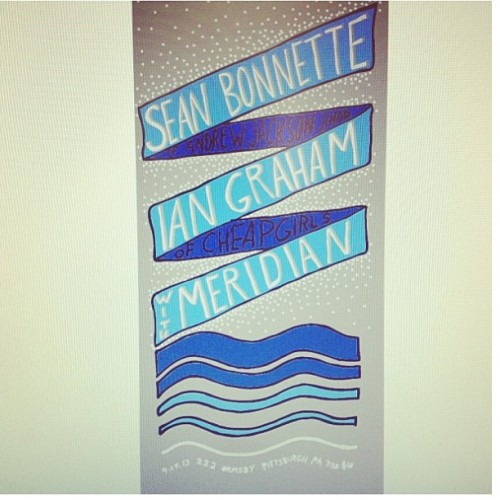 April 17th. 7pm $10. Sean Bonnette of Andrew Jackson Jihad, Ian Graham of Cheap Girls, & Meridian. @222ormsby #222ormsby Don't miss out on this awesome show!! @baxter_patterson @jr_caggiano