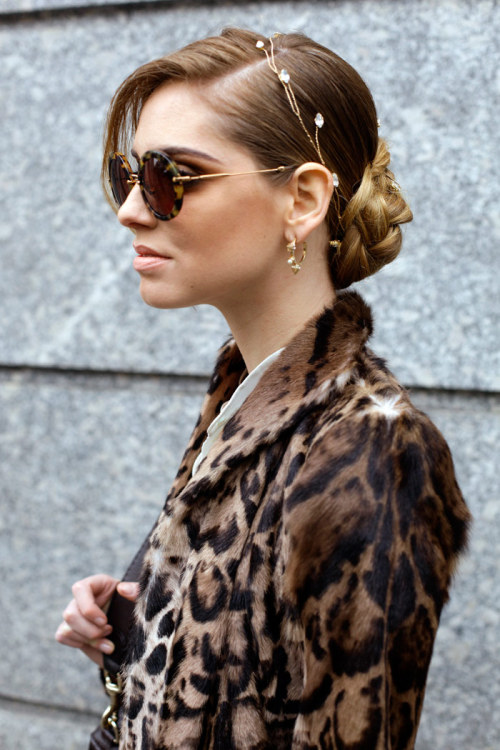 animal prints were huge for pre-fall collections, it is also all over street style…. are you a fan?