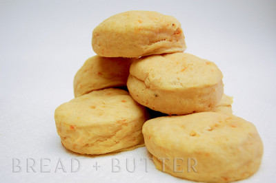 Sweet Potato Buttermilk Biscuits by JennRazon on Flickr.