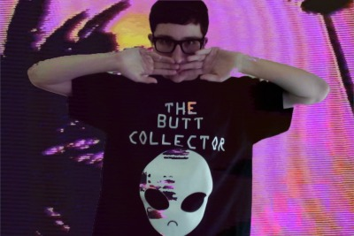 SNCKPCK in the Butt Collector Tee :<