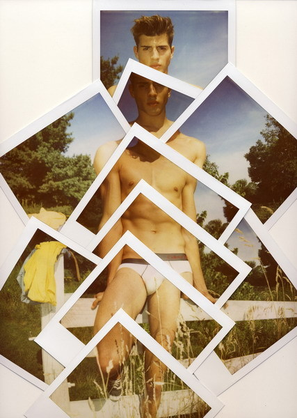 anyobjections:  Polaroid Jeremy KostPurpleDIARY Sept2012Humbert Clotet